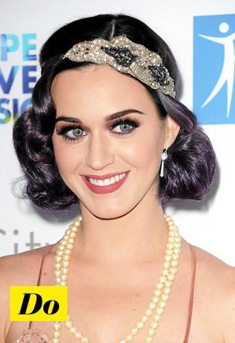 Copiez sans hésiter la coiffure bling réussie de Katy Perry !