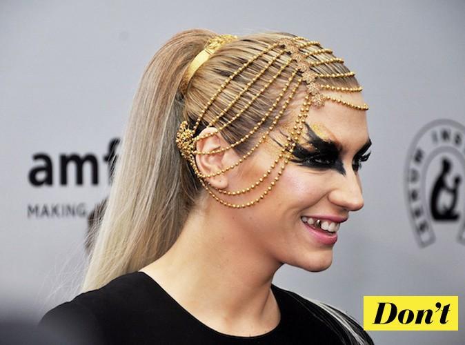 Evitez la coiffure bling ratée de Kesha !