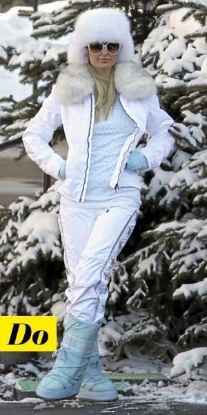 Comment porter les Moon Boots :  le look tendance de Paris Hilton