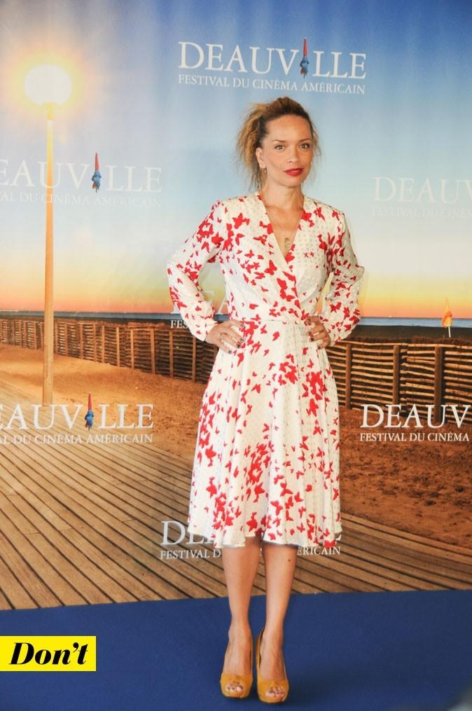 Festival de Deauville 2011 : la robe imprimé papillons de Victoria Mahoney