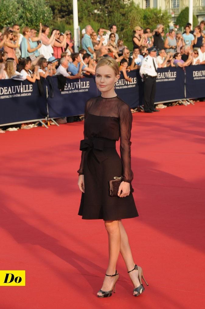 Festival de Deauville : la robe noire Valentino de Kate Bosworth