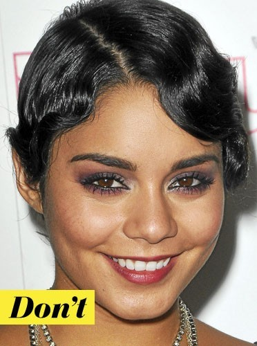 Le make-up rose de Vanessa Hudgens !