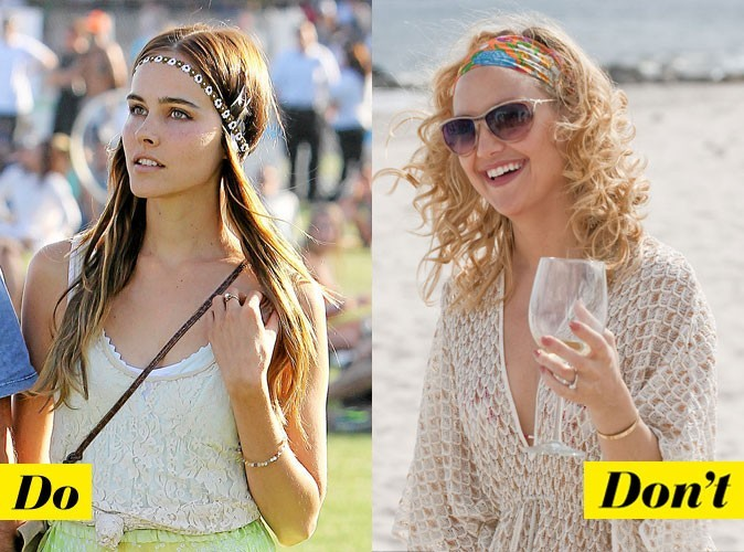Look de star : comment porter le headband ?