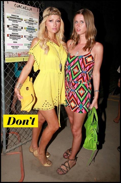 Paris HIlton et Nicky Hilton à Coachella