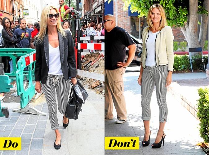 Look de star 2011 : mode d'emploi du pantalon rayé Isabel Marant