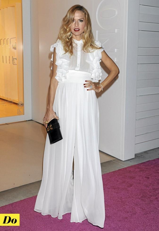 Do : Le total look blanc de Rachel Zoe