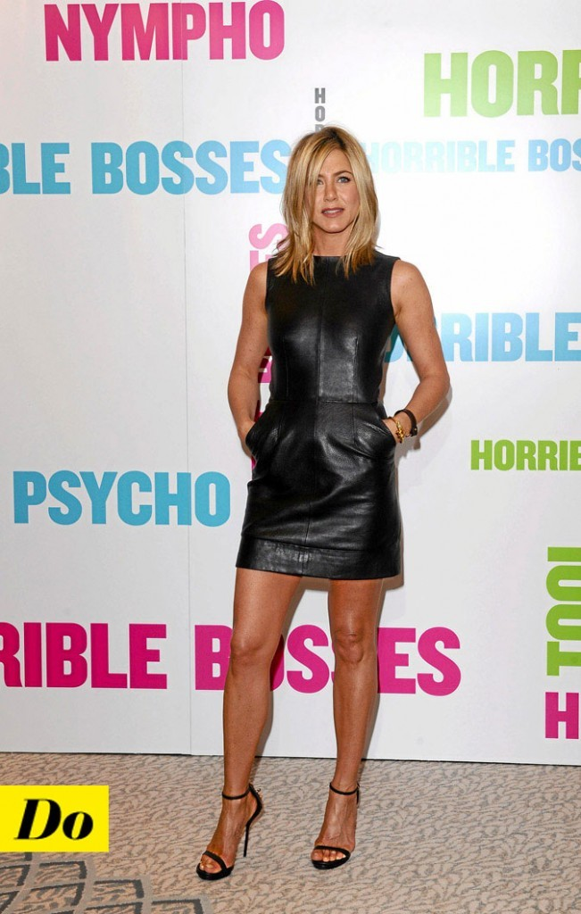 La petite robe noire de Jennifer Aniston !