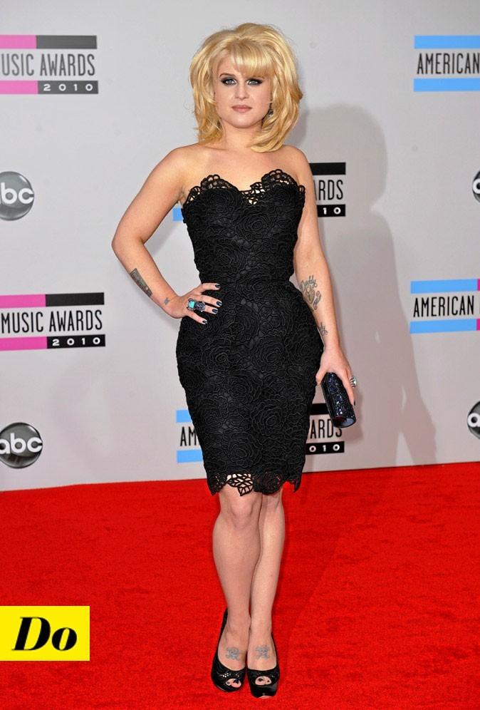 La petite robe noire de Kelly Osbourne !