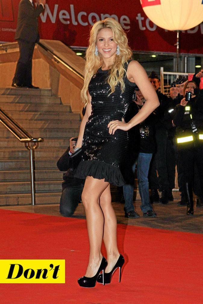 La petite robe noire de Shakira !