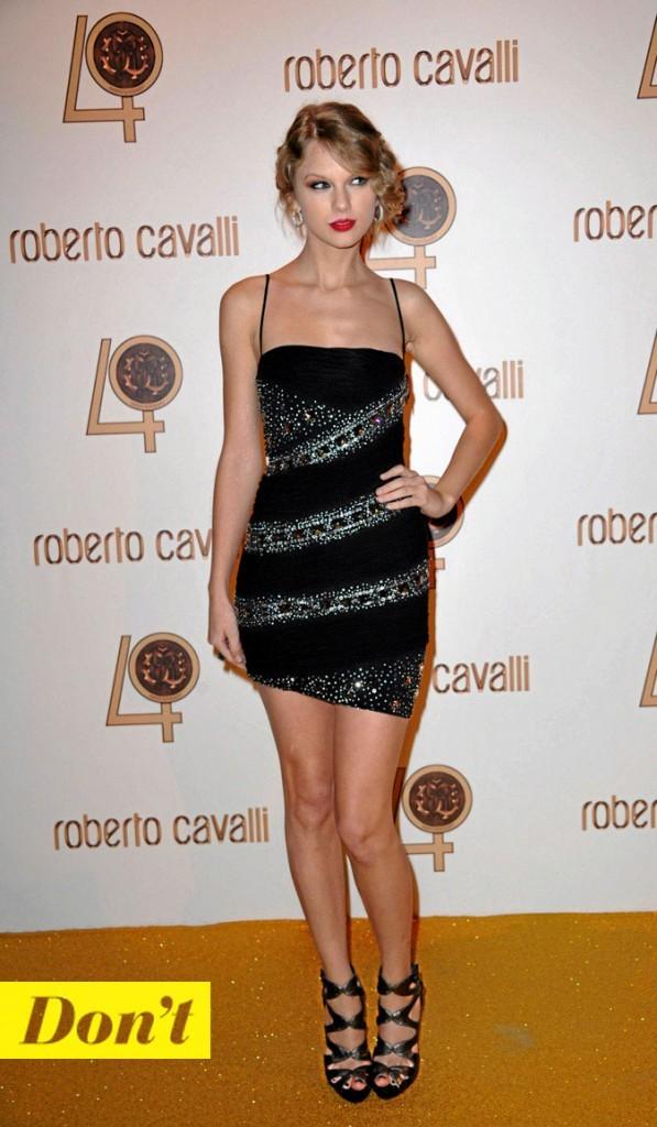 La petite robe noire de Taylor Swift !