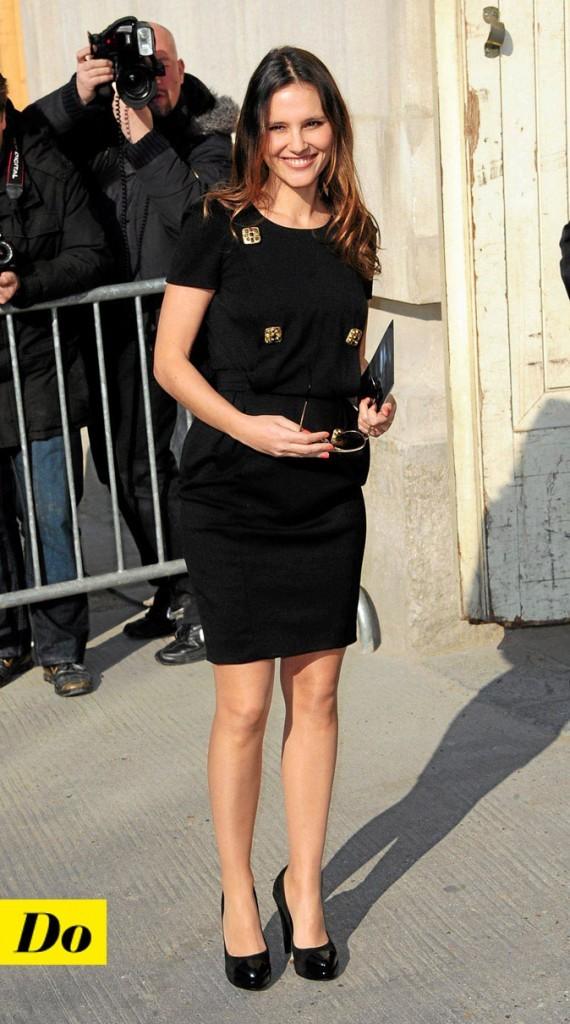 La petite robe noire de Virginie Ledoyen !