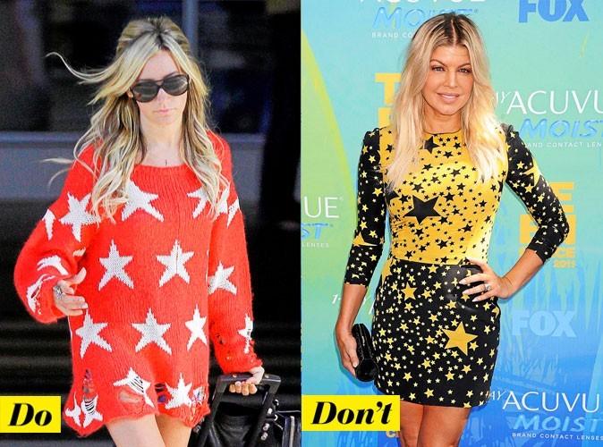 Look de stars 2011 : comment porter l'imprimé étoiles ?