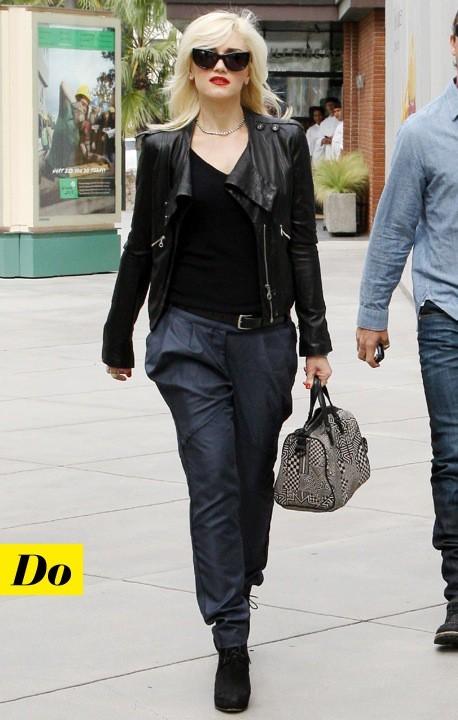 Gwen Stefani et son perf A.L.C.