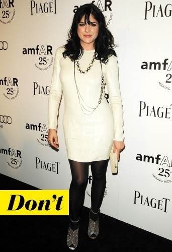 Selma Blair et ses shoes Brian Atwood