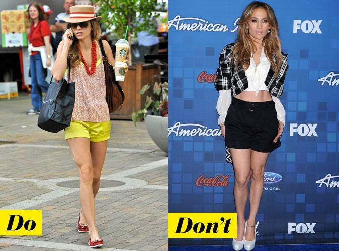 Looks de stars : comment porter le short en 2011 ?