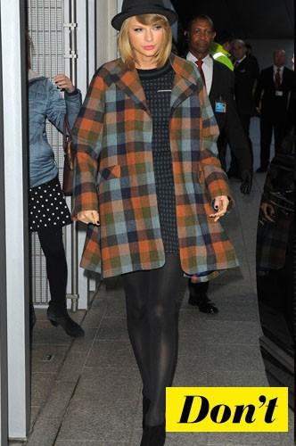 Le manteau tartan