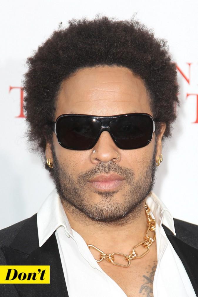 Don't: l'anneau et le strass de Lenny Kravitz