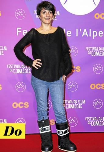 Florence Foresti: Au Festival de l'Alpe d'Huez, Flo a tout bon !