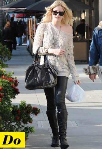 Taylor Momsen et son legging en cuir