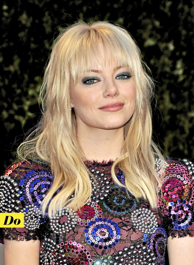 Le maquillage des yeux vert d'Emma Stone : Do !