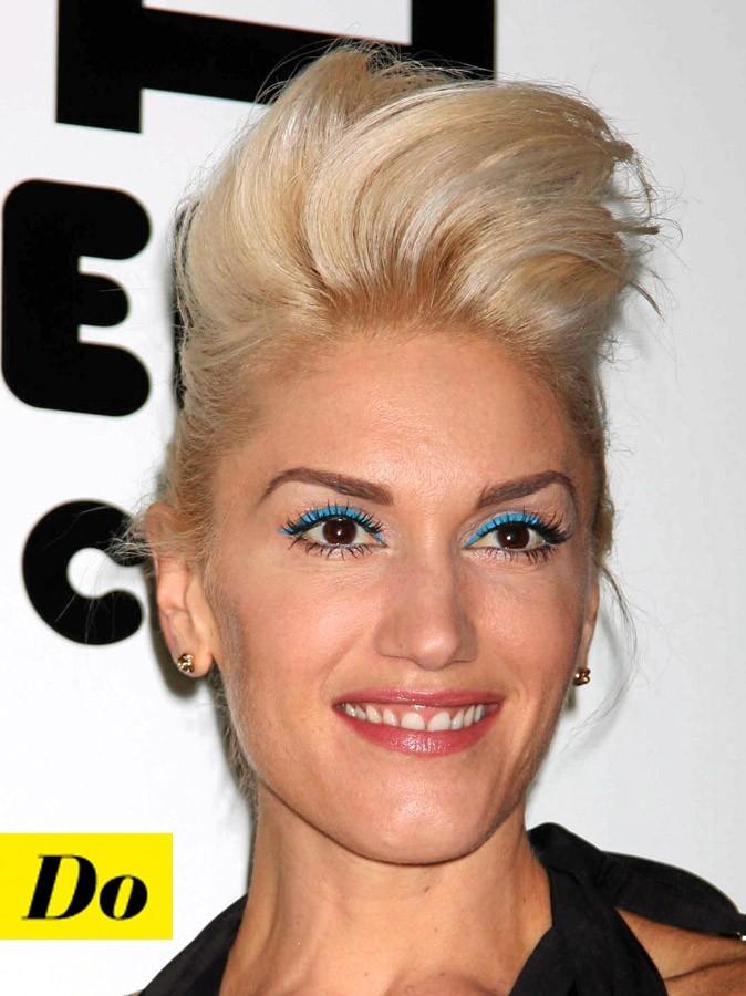 Maquillage de star : le make-up bleu de Gwen Stefani