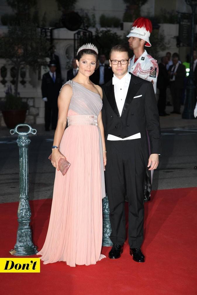 Mariage de Charlene Wittstock et Albert de Monaco : les looks de Victoria de Suède et son mari !