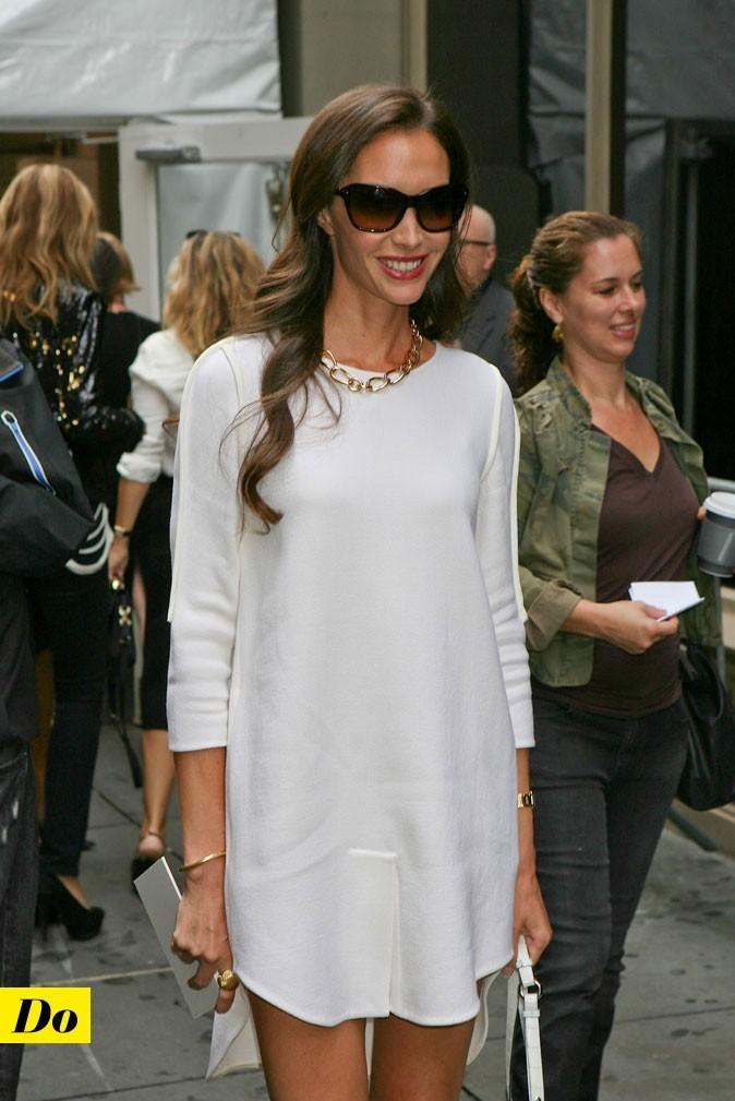 Mercedes-Benz Fashion Week 2011 : Christy Turlington lors du défilé Calvin Klein !