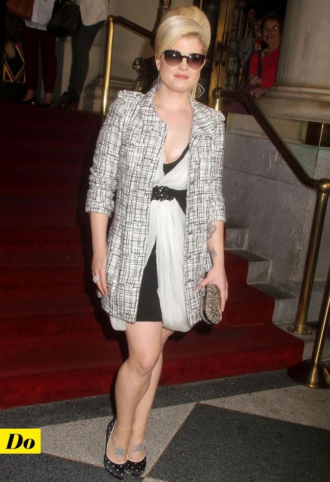 Mercedes-Benz Fashion Week 2011 : Kelly Osbourne lors du défilé Marchesa !
