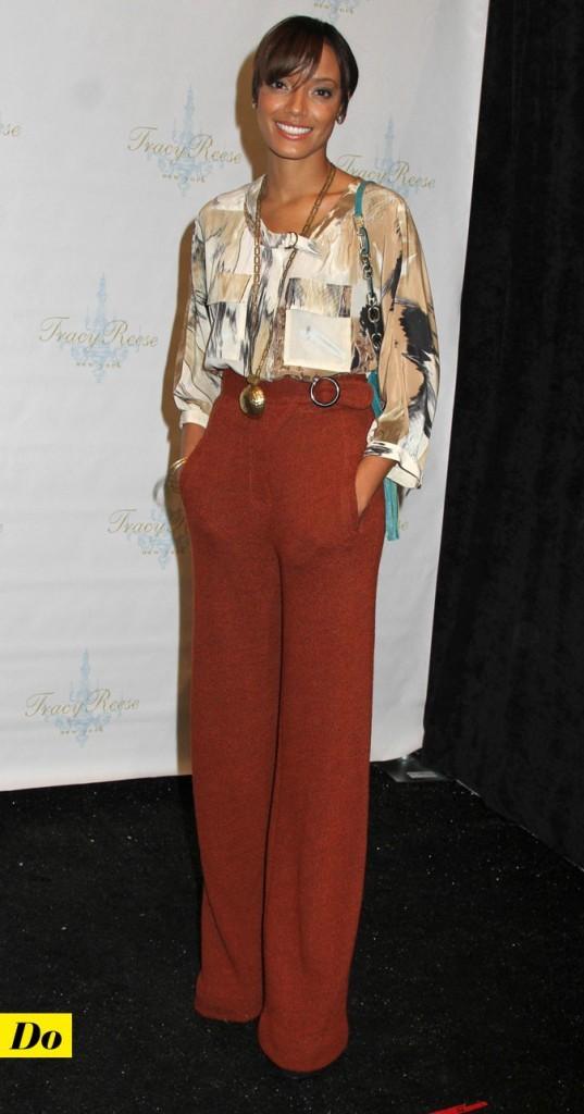 Mercedes-Benz Fashion Week 2011 : Selita Ebanks lors du défilé Tracy Reese !