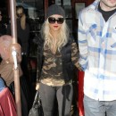 Tendance militaire : le top camouflage de Christina Aguilera