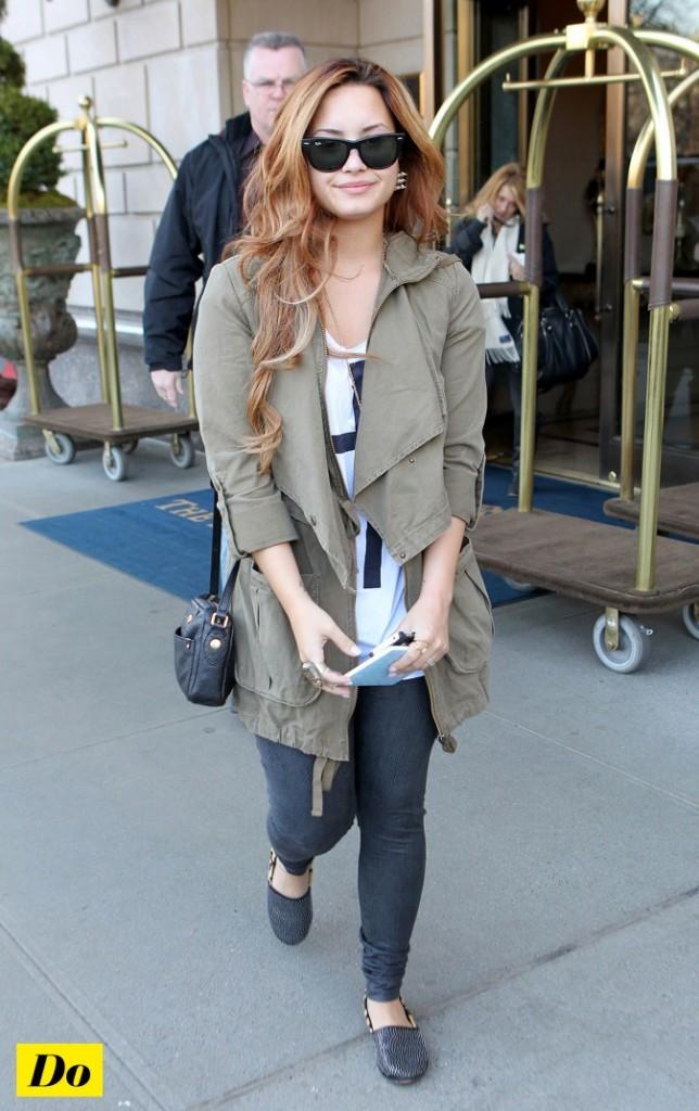 Demi Lovato s'est procuré le model cloûté !