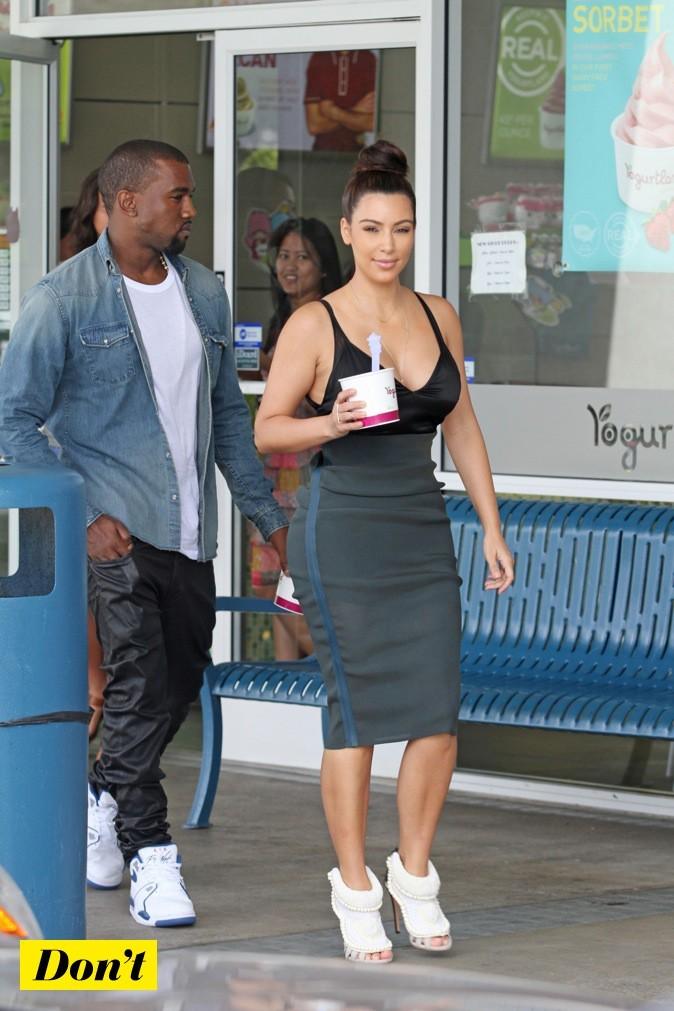 Kim Kardashian et Kanye West !