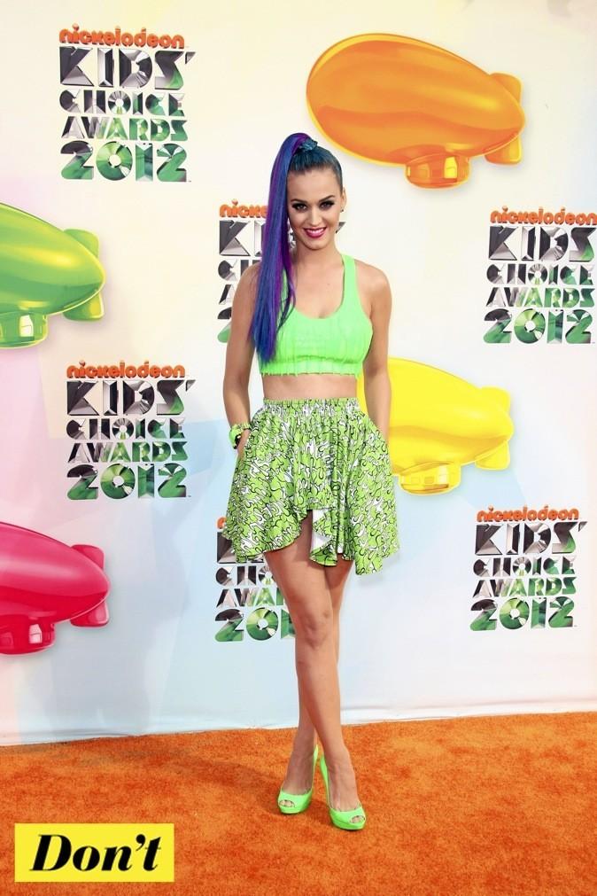 Katy Perry : en vert et contre tous !
