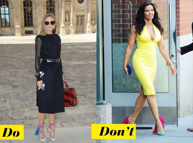 Do et don't : les chaussures originales