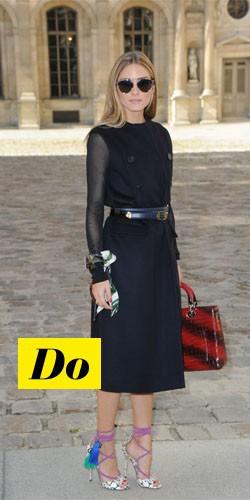 Do : Olivia Palermo et ses chaussures originales
