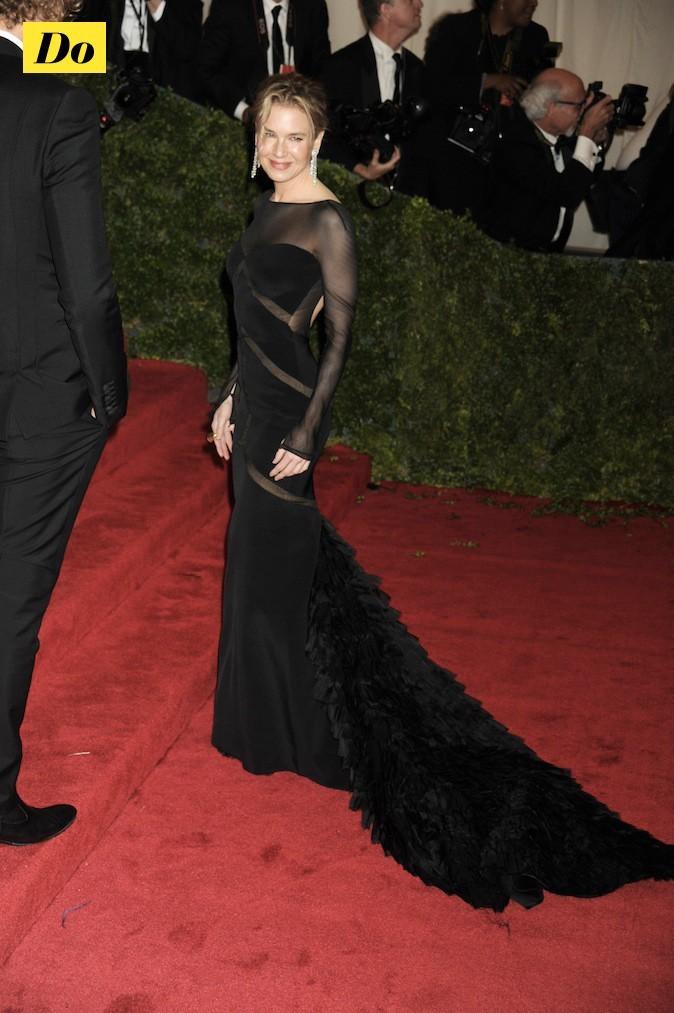 Renée Zellweger en mode red carpet !