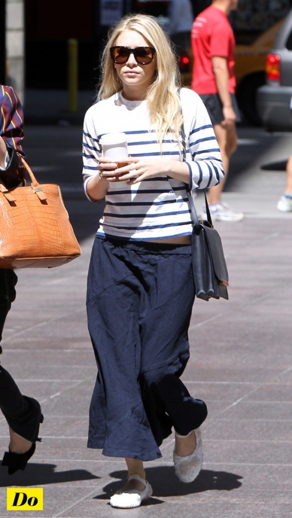 Ashley Olsen en mode baba cool !