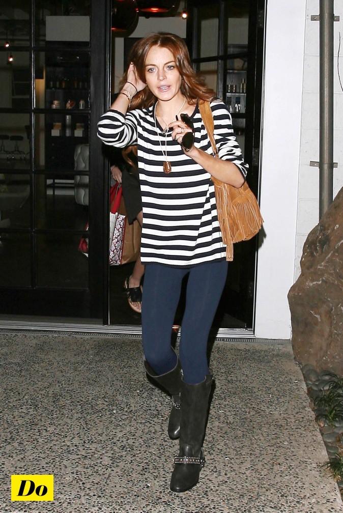 Lindsay Lohan en marinière!