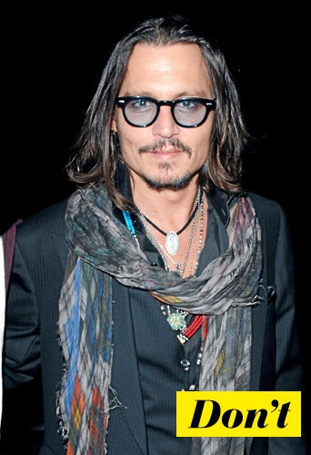 Les lunettes de Johnny Depp ? Même pas en rêve !