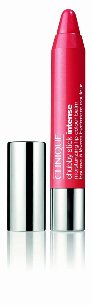 Baume à lèvres hydratant couleur, Chubby stick intense, Clinique 19 €