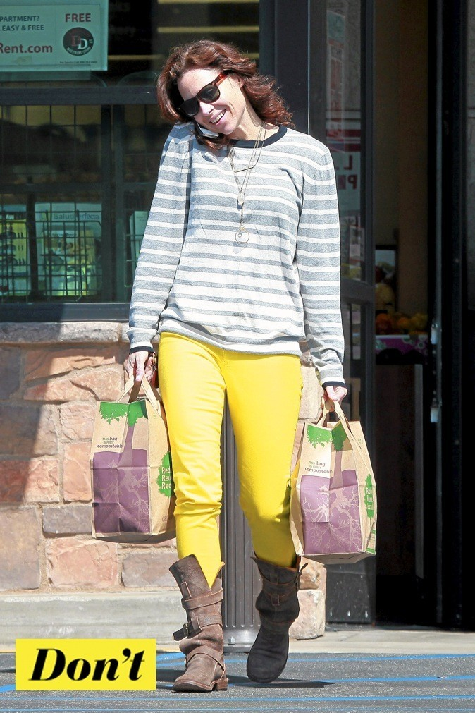 Minnie Driver : alerte, fièvre jaune !