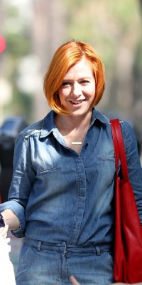 Alyson Hannigan : en mode orange mécanique !