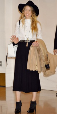 Amber Heard : canon en cow-girl chic !