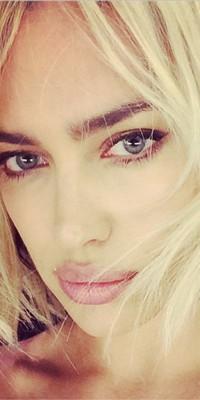 Beauty Look : Irina Shayk : elle est passé au blond !
