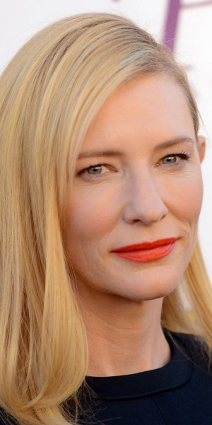 Cate blanchett un beauty look minimaliste relev par une for Look minimaliste