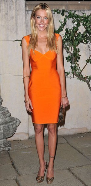 Katie Cassidy : où trouver sa robe orange en moins cher ?
