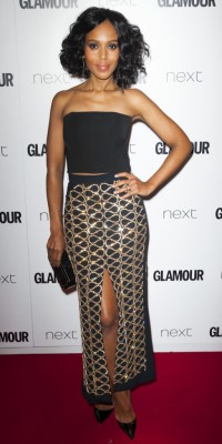 Kerry Washington, Glamour la rend glamourissime !
