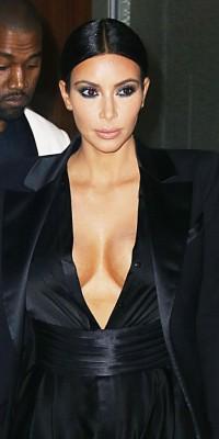 Kim Kardashian : un beauty look dark !