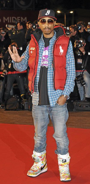 Le look hip hop de pharrell williams - Casquette pharrell williams ...