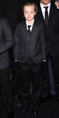 Mode : Shiloh Jolie-Pitt : en total-look garçon manqué !